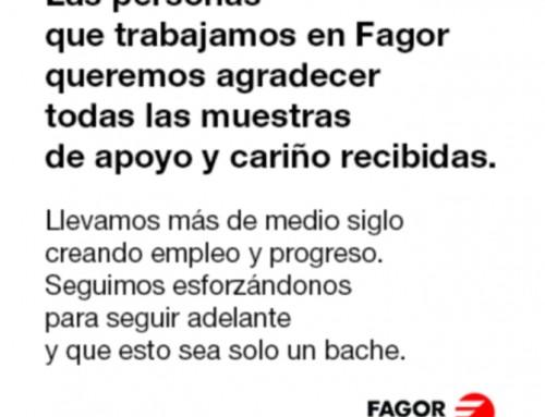 Ultimas noticias desde Fagor